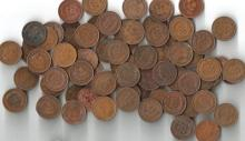 (50) Indian Head Cents - Circulated