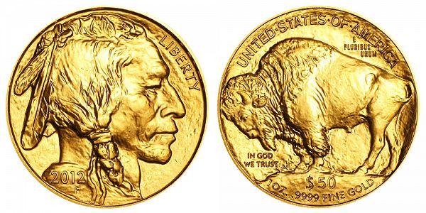 2012 1 oz. Gold Buffalo Bullion - 24k Gold