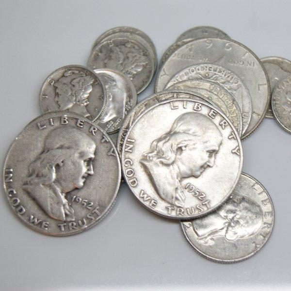 $5 Face Value Random Mix - 90% Silver