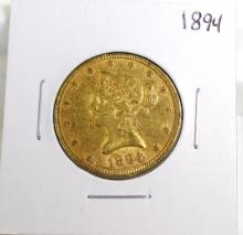 1894 $ 10 Gold Liberty