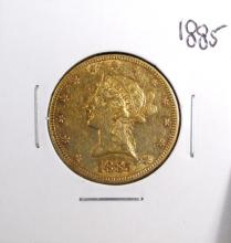 1885  $10 Gold Liberty