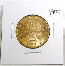 1900 $ 10 Gold Liberty
