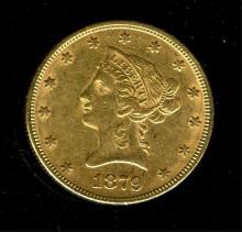 1879 $ 10 Gold Liberty Eagle