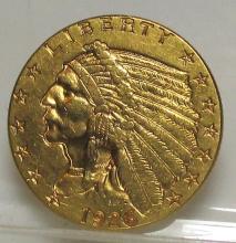 1926 $ 2.5 Gold Indian Quarter Eagle