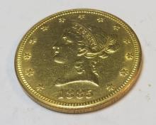 1885 s $ 10 Gold Liberty Eagle