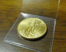 1 oz. US Gold Eagle Bullion - Random Year