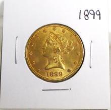 1899 $ 10 Gold Liberty
