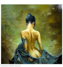 Modern Abstract Art Classic Naked Girl Nude Oil Painting On Canvas 1PC(No frame)