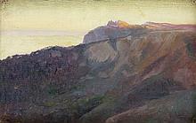 Leon Kowalski, Ai Petri - Crimea from the series The Sea, about 1908