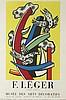 Fernand Léger (1881 - 1955), Fernand Léger, retrospective exhibition poster, 1956, Fernand Leger, PLN800