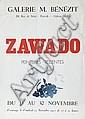 Jan Wacław Zawadowski, PLAKAT WYSTAWY-, Wacław Zawadowski, Click for value