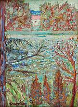 Czeslaw Rzepinski (1905 - 1995) Home By The Lake