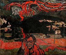 """Stefan Suberlak (1928 - 1994) """"A Vision"""""""