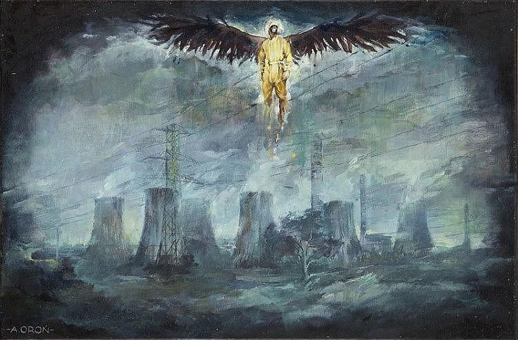 Adam Oron (b. 1987) Angel, 2015