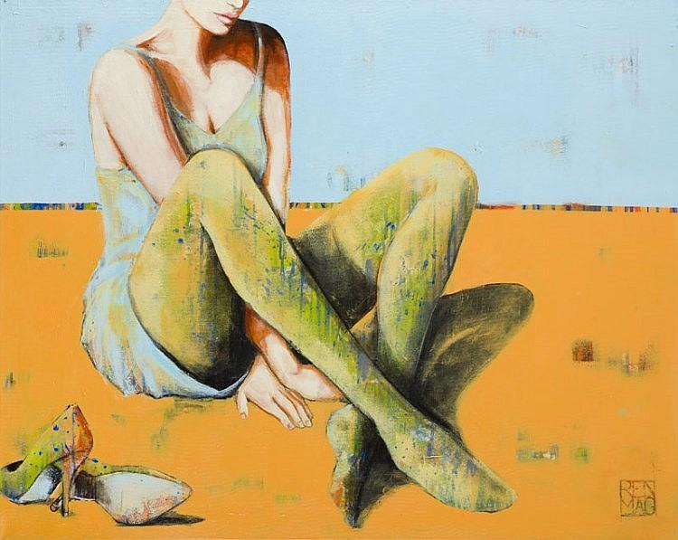 Renata Magda (b. 1980) Hidden eyes, 2015