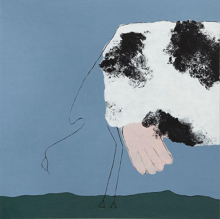 Anna Molas (b. 1986) Cow, 2015