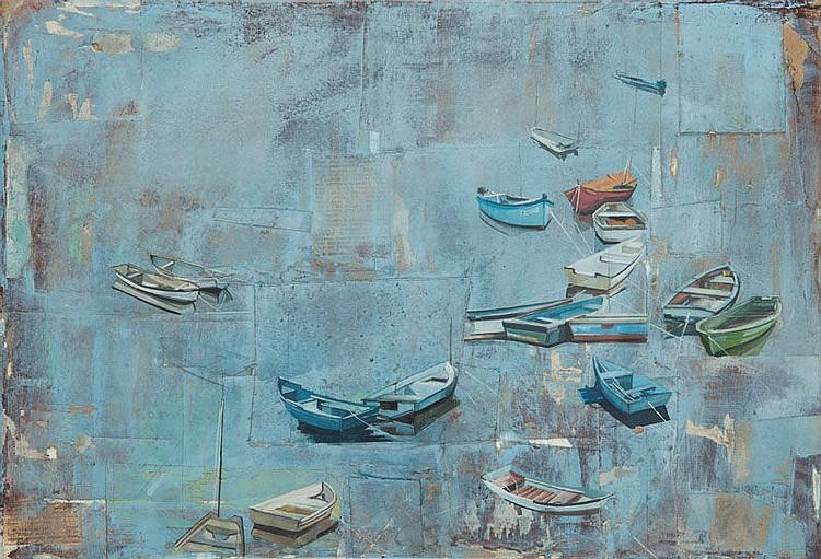 Agata Krutul (b. 1983) Boats, 2016