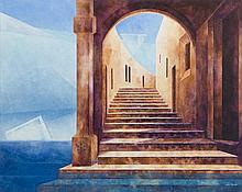 Marta Bilecka (b. 1975) Atlantis - Side Entrance 1, 2016