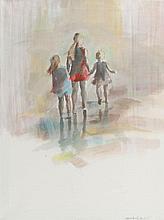 Marta Szarek-Michalak (b. 1979) Family walk, 2016