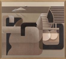 Anna Zalewska (b. 1985) A moment without suspicion creates eternity , 2020, 80 x 90 cm