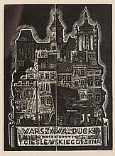 "Tadeusz Cieslewski (son) (1895 - 1944), ""Warsaw - Puck"", 1933"
