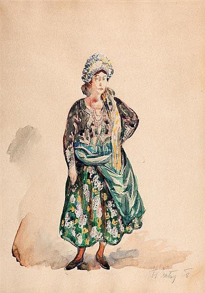 Fryderyk Pautsch HUCUŁKA, 1928 R.