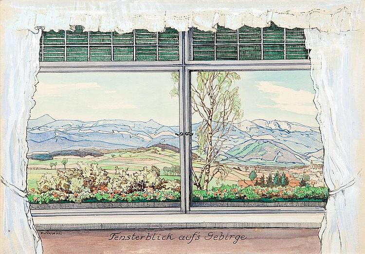 Friedrich Iwan, Mountain View (