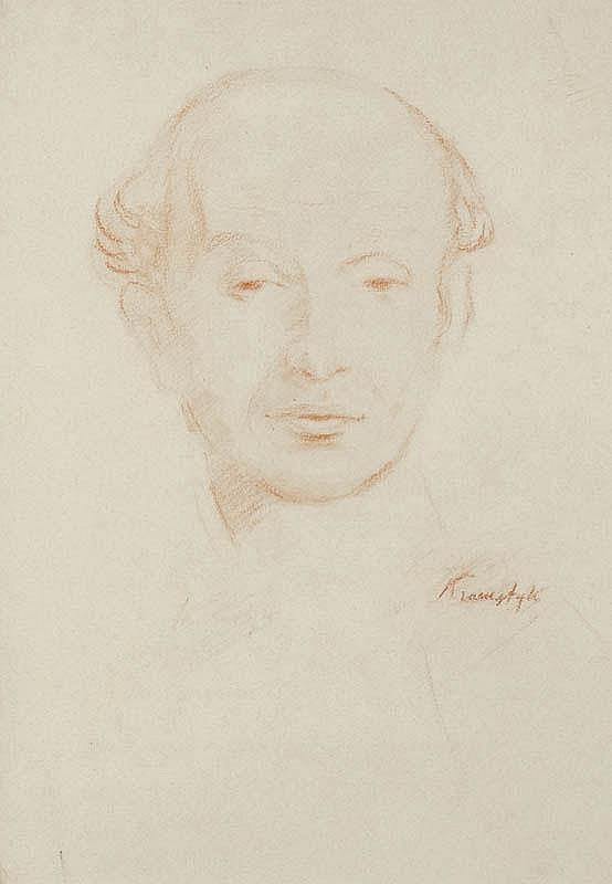 Roman Kramsztyk, PORTRET MĘŻCZYZNY
