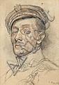 Roman Kramsztyk, PORTRET KAROLA MASZKOWSKIEGO, 1917 R., Roman Kramsztyk, Click for value