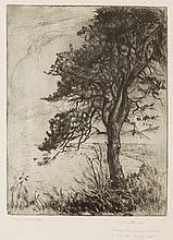Leon Kowalski (1870 - 1937) Pine by the Sea'