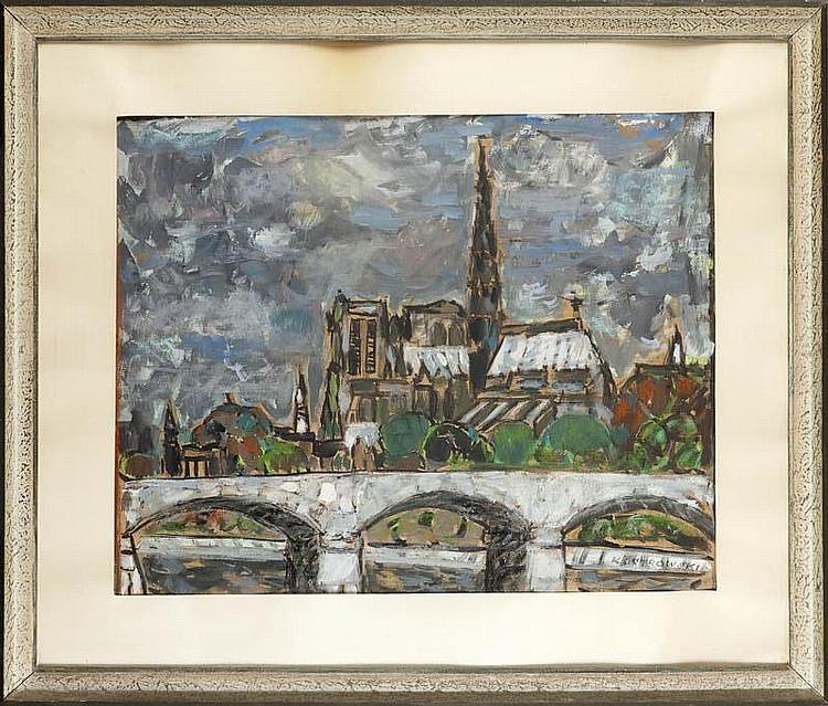 Kazimierz Ostrowski, Notre Dame w Pary ż u