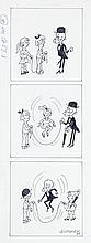 "Zbigniew Lengren (1919 - 2003), Filutek, comic strip for the magazine ""Przekroj"" No. 22 (1 VI) = No. 2710 , 1997"