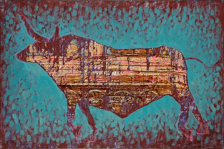 Grzegorz Klimek, (b. 1987) Mechanical bull 2, 2015