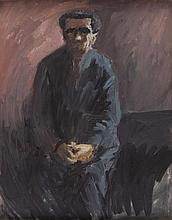Marek Oberländer (1922 - 1978), Portrait of Jozef Karniol