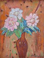 Czeslaw Rzepinski (1905 - 1995), Flowers in a Vase