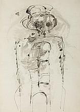 Marek Oberlander (1922 - 1978) Figure, 1960