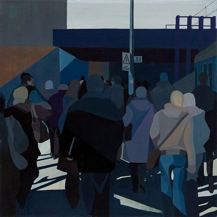 Jaroslaw Szewczyk (b. 1985) Crowd, 2009