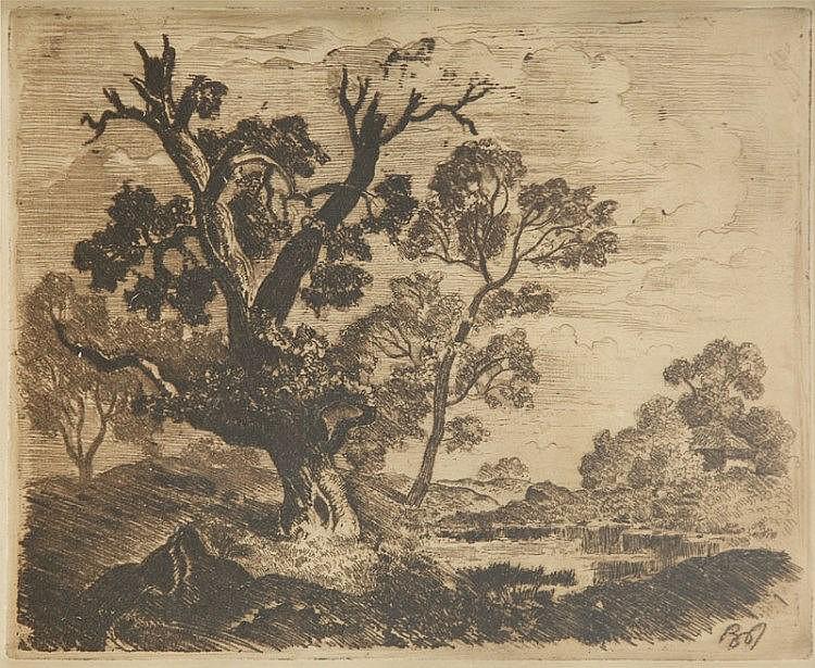 Bronislaw Jamontt (1886 - 1957) Trees