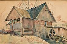 Antoni Chrzanowski (1905 - 2000) Watermill, 1937