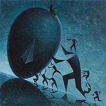 Lukasz Czernicki (b. 1980) Sisyphus, 2017