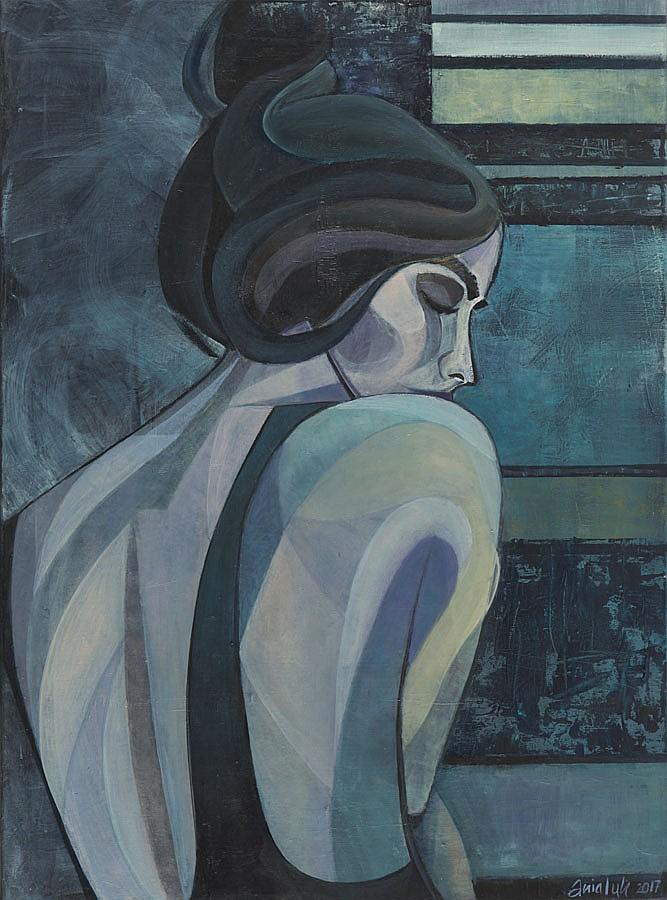 Anna Ciesluk (b. 1979) Sensual 2, 2017