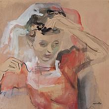 Rajmund Kanelba (1897 - 1960), Lady in red dress