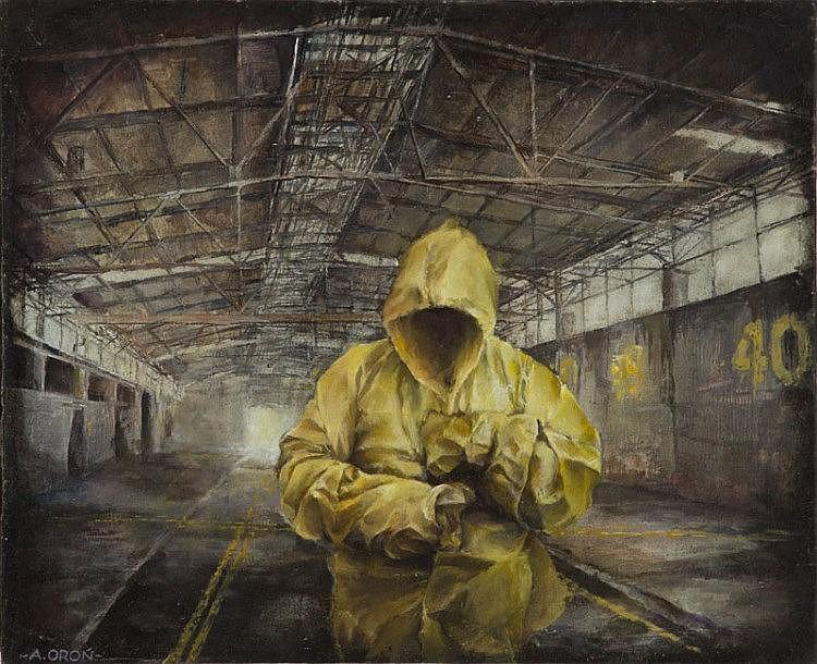 Adam Oron (b. 1987) Yellow marks, 2015