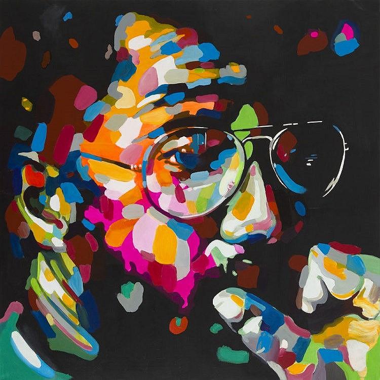 Monika Lakomska (b. 1968) Billy Cobham - Incredible Sound, 2016