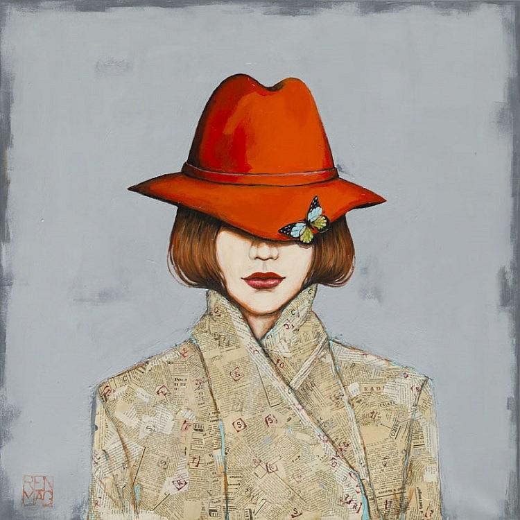 Renata Magda (b. 1980) Red Hat, 2015