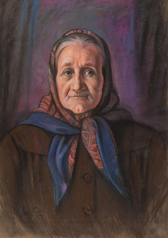 Jozef Kidon (1890 - 1968) Portrait of Woman