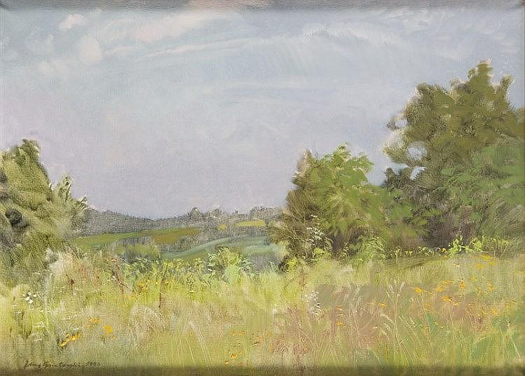 Jerzy Gnatowski (1929 - 2012), Summer Landscape, 1993