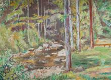 Czeslaw Rzepinski (1905 - 1995), Landscape
