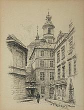 Tadeusz Cieslewski (syn) (1895 - 1944) City View