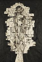 """Marek Oberlander (1922 - 1978) """"Gestalt"""", 1960"""